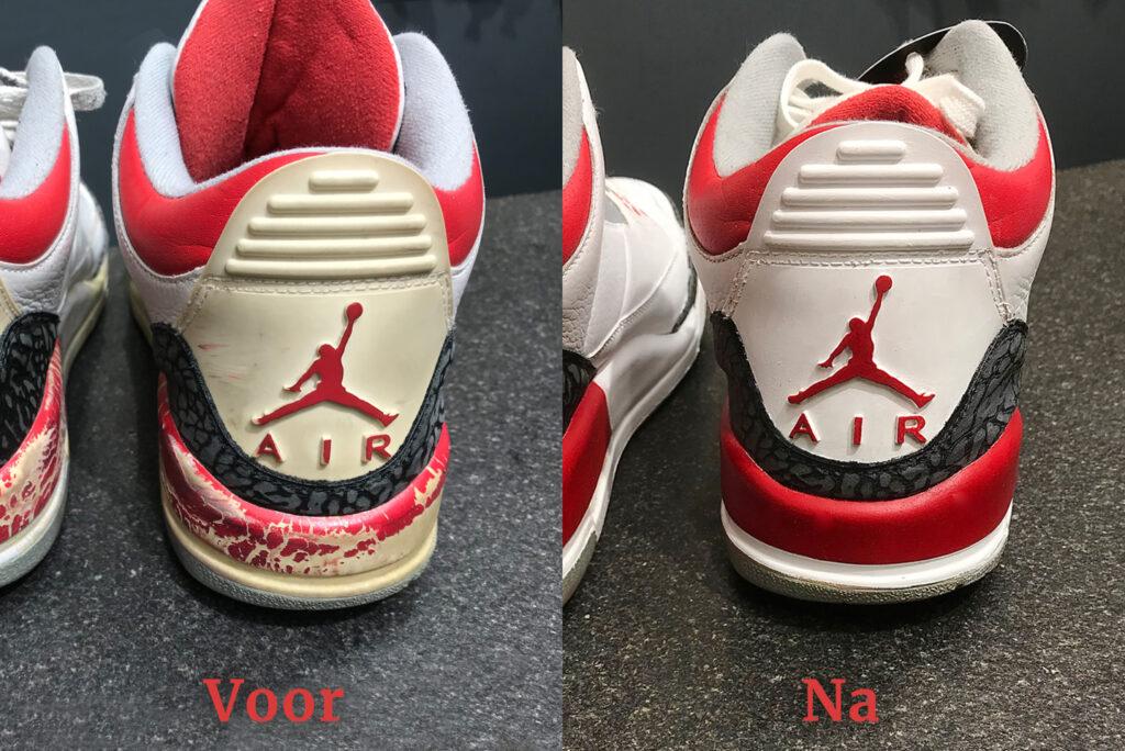 Nike Jordan Classics restauratie meesterschap hak