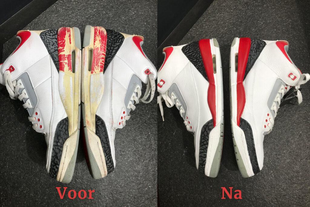Nike Jordan Classics restauratie meesterschap zijkant
