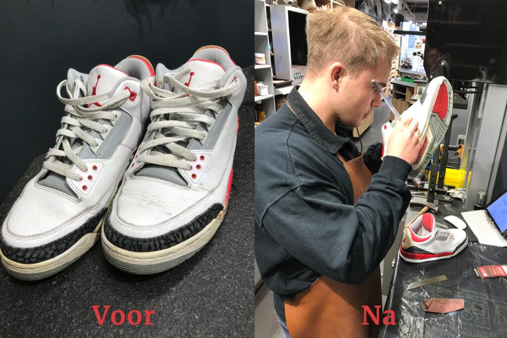 Nike Jordan Classics restauratie